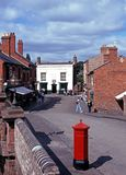 Victorian street, Dudley. Royalty Free Stock Photos