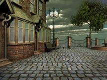 Victorian street Stock Photo