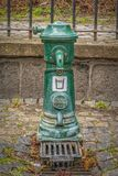Victorian Street Water Faucet royalty free stock photo