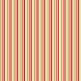 Victorian striped wallpaper Stock Image
