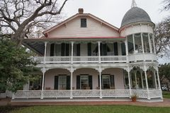 Victorian style building in Gruene Texas Royalty Free Stock Photography