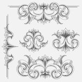 Victorian Style Decorations Stock Photography