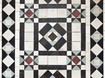 Victorian style floor tile pattern Royalty Free Stock Image
