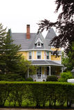 Victorian Style Home. An old Victorian style home with classic architecture Royalty Free Stock Photos