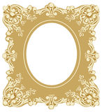 Victorian Style Picture Frame Stock Image