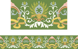 Victorian style repeating border Stock Photos