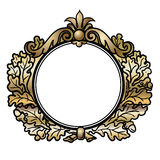 Victorian Style Round Frame Stock Photos