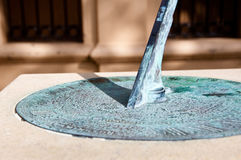 Victorian Sundial Stock Images
