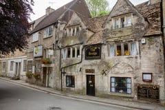 Victorian Tea Rooms Bradford-on-Avon Wiltshire Southwest England Stock Photos