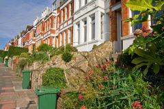 Victorian terrace houses Royalty Free Stock Photo