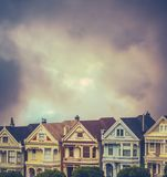 Victorian Terrace Houses Royalty Free Stock Image