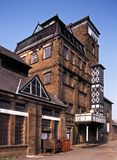 Victorian Tower Brewery, Hook Norton, England. stock images