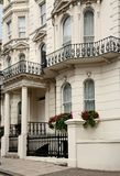 Victorian townhouse, London. Typical Victorian townhouse, London Borough of Kensington Stock Image