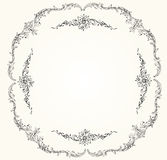 Victorian vector frame. This is file of EPS10 format Stock Image