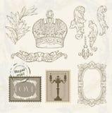 Victorian vignette Royalty Free Stock Photo