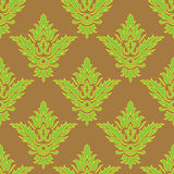 Victorian vintage color pattern. Trichromatic Royalty Free Stock Image