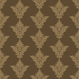 Victorian vintage color pattern. Trichromatic Stock Images