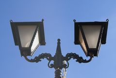 Victorian Vintage Street Lamp Light Stock Photography