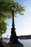 Victorian Vintage Street Lamp Light in Westminster, London, England Stock Photo