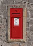 Victorian Post Box stock photography