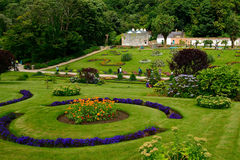 Victorian walled garden, Kylemore, Ireland Royalty Free Stock Photo