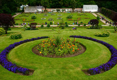 Victorian walled garden, Kylemore, Ireland Stock Image