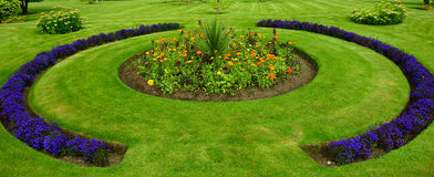 Victorian walled garden, Kylemore, Ireland Royalty Free Stock Photos
