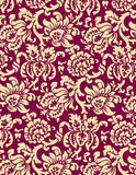 Victorian Wallpaper. A classic victorian wallpaper pattern created in Adobe Illustrator Royalty Free Stock Photos