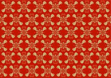 Victorian wallpaper Stock Photography