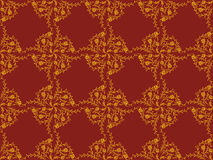 Victorian wallpaper pattern Stock Images