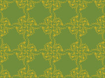Victorian wallpaper pattern Royalty Free Stock Images