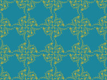 Victorian wallpaper pattern Stock Image