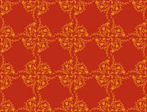 Victorian wallpaper pattern Royalty Free Stock Photo