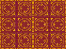 Victorian wallpaper pattern Royalty Free Stock Photography