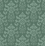 Victorian Wallpaper Tiled Image. A classic victorian wallpaper pattern created in Adobe Illustrator.  This pattern can be tiled together to expand the size of Stock Images