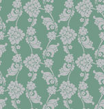 Victorian Wallpaper Tiled Image. A classic victorian wallpaper pattern created in Adobe Illustrator.  This pattern can be tiled together to expand the size of Stock Photography