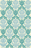 Victorian Wallpaper Vector. A classic victorian wallpaper pattern created in Adobe Illustrator Stock Photography