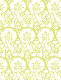 Victorian Wallpaper Vector 7. A classic victorian wallpaper pattern created in Adobe Illustrator Stock Photo
