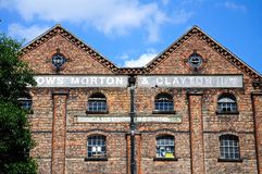 Victorian warehouse, Nottingham. Stock Images