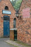 Victorian warehouses at Blists Hill Royalty Free Stock Photos