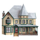 Victorian Winter House Royalty Free Stock Photos