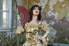 Victorian Woman Royalty Free Stock Photo