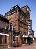 Victorianen står hög bryggeriet, hakar Norton, England. arkivbilder