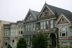 Victorians en San Fracisco Image libre de droits