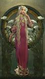 Victorianskönhet Royaltyfri Fotografi