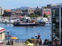 Victorias Hafen BC stockfoto