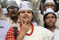 Victorious AAP Stock Photos