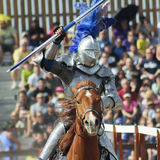 A Victorious Knight at the Arizona Renaissance Festival Royalty Free Stock Photography