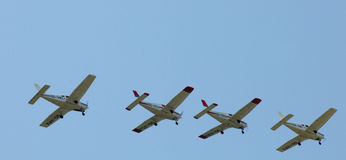 The Victors Formation Team - Acrobatics Planes Royalty Free Stock Photography
