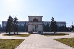 Victory Arch in Chisinau, Moldavië stock fotografie